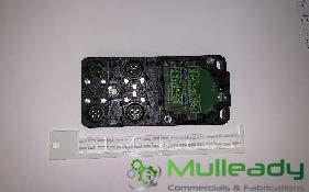 TEL2450 4-Way Splitter Box Toploader/Kerbsider (EC02255)