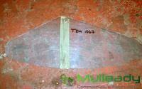 TEM1067 PLASTIC SIGHT SCREEN, CLEAR, TERB 16631