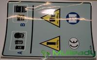 TEM1391 DECAL; Omnidel Plastic Panel Decal SWL (26556)
