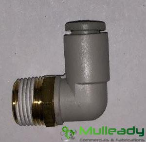 TEV3055/2 SWIVEL ELBOW, 6MM PUSH-IN, FOR TEV3055