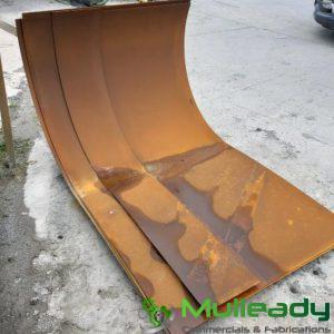 Rolled Hopper – Floor Wear Plate